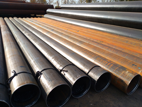 LSAW STEEL PIPE API 5L X60 L415 PSL2 406MMX7.1MM 12M LENGTH