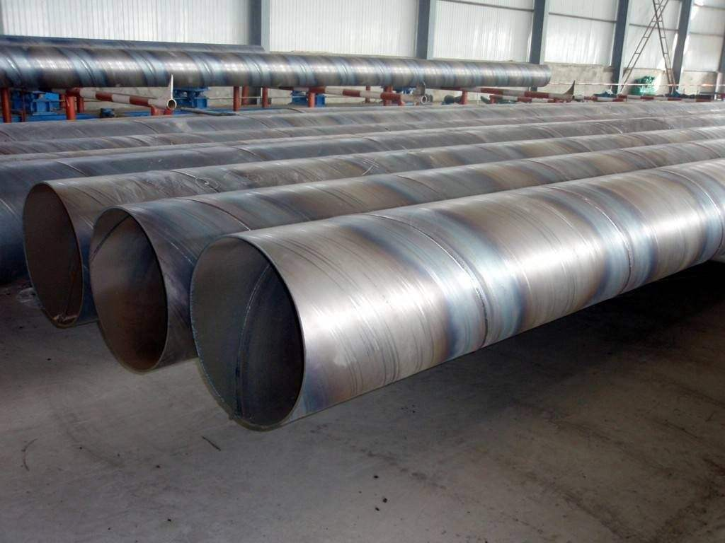API 5L GRB GB/T 9711.1 Spiral Steel Welded Pipe Black Astm A500